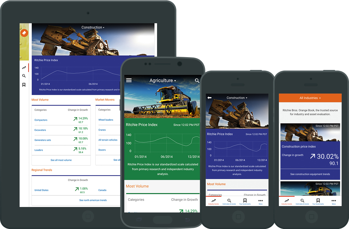 Ritchie Bros. iOS and Android App